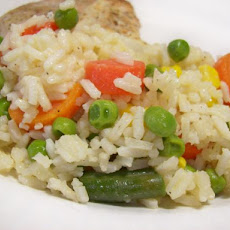 Easy Vegetable Rice Medley