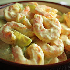 Creamy Shrimp and Celery Salad