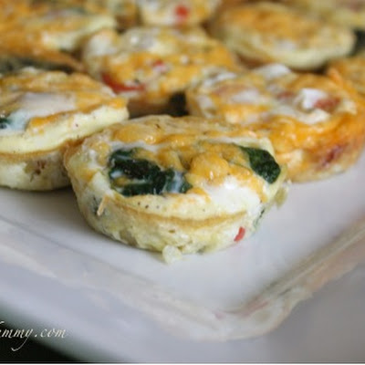 Mini Bacon and Veggie Frittatas