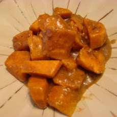 Curried Sweet Potatoes in Coconut Milk