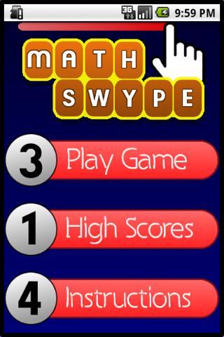 Math Swype