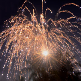 Boom!! That Was The Moment.. Did You Miss It by Devraj Poddar - Abstract Fire & Fireworks