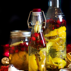 Fantastic Christmas Spice Infused Vodka with Cranberries – Sure to Warm The Cockles!
