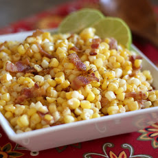 Southwestern Corn Skillet with Chile and Lime