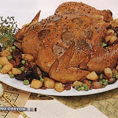 Chicken with Truffles, Wild Mushrooms and Potatoes