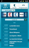 Screenshot of Guide TV Bbox
