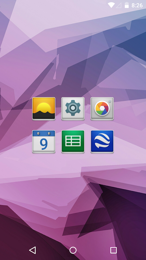 Lustre - Icon Pack Screenshot 1