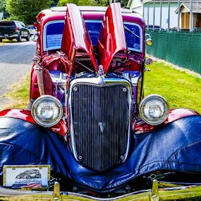 Liquid Metal by Brian Stout - Transportation Automobiles ( car, hdr, automobile, auto, car show, antique, classic )