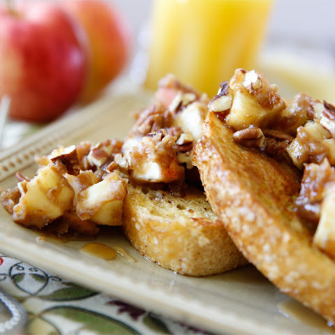 Caramel Apple French Toast