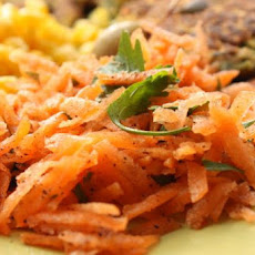 Sweet Grated Carrot Salad