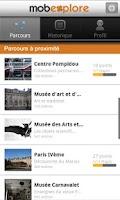 Screenshot of MobExplore