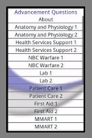 Screenshot of Hospital Corpsman Advancement