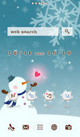 Screenshot of Cute wallpaper★From Snowman