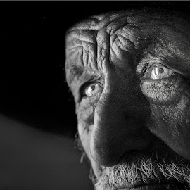 Remenbrance by Daniel Amat - People Portraits of Men ( wrinkle, ground, people, portrait, man,  )