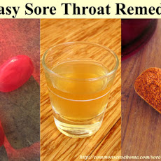 Sore Throat Home Remedy #6 – Sore Throat Tea