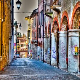 by Eduard Andrica - City,  Street & Park  Street Scenes