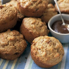 Date-Apple Oat Bran Muffins