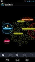 Screenshot of Sonarflow Visual Music Player