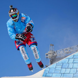 Tristan Dugerdil #CrashedIce © 2014 Boucerman Photography by Thomas Nelson - Sports & Fitness Other Sports