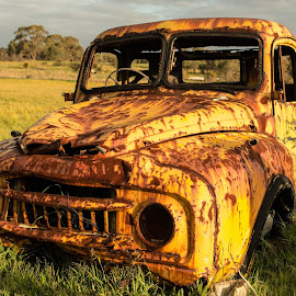 The Old Truck by Jeff Webber - Transportation Automobiles