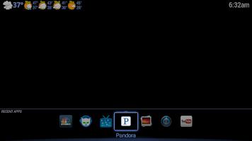 Screenshot of Open Launcher for Google TV
