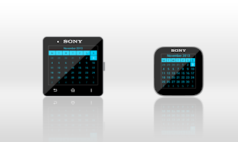 Screenshot of Calendar for SmartWatch