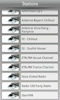 Screenshot of Tunin.FM Clubbing
