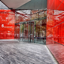 The red by Jose Figueiredo - Buildings & Architecture Office Buildings & Hotels ( london, offices, buildings )
