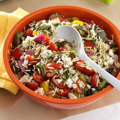Greek Orzo Salad Recept | Yummly