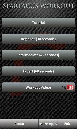 免費健康App Spartacus Workout 阿達玩APP