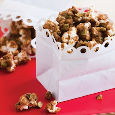 Caramel-Masala Popcorn and Pistachios from 'Salty Snacks'