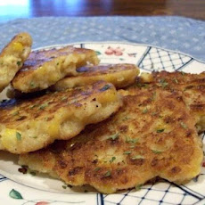 Shrimp and Corn Cake Fritters
