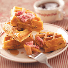 Toasty Pumpkin Waffles Recipe