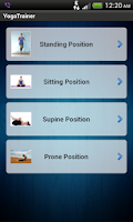 Screenshot of Yoga Trainer Free