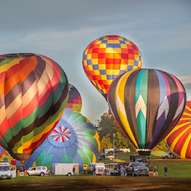 Balloon Fest by Marie Otero - Sports & Fitness Other Sports ( flight, nc, color, ballooning, sport, statesville, balloon, otero )