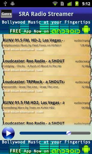 SRAOSS Radio Streamer