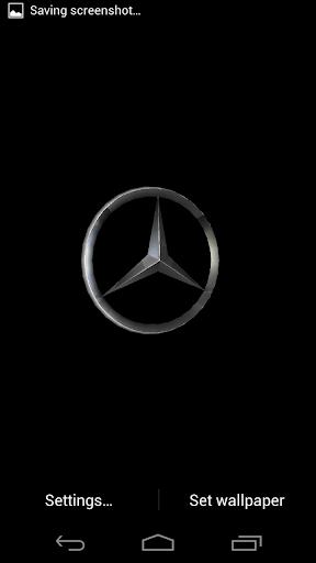 Mercedes 3D Live Wallpaper