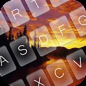 APK App Fantasy Dawn Keyboard Theme for iOS