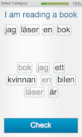 Screenshot of Learn Swedish - Fabulo