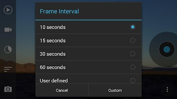 Screenshot of Framelapse Pro