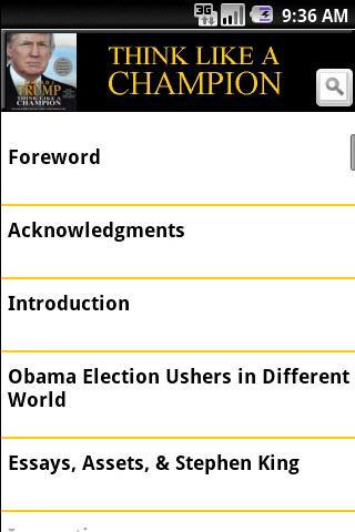 【免費書籍App】Donald Trump: Like A Champion-APP點子