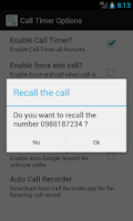 Screenshot of Call Timer Pro (Auto Redial)