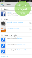 Screenshot of Andro Search (Files Contacts)