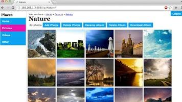 Screenshot of Plugin : Web UI