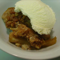 Apple Peanut Crumble