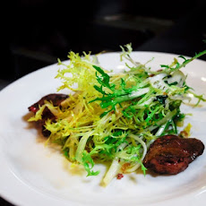 Frisée Salad with Duck Livers Recipe