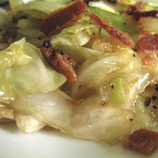 Kittencal's Fried Cabbage With Bacon