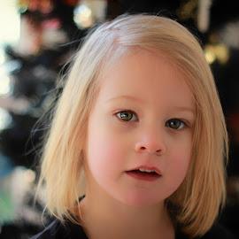 Annie 5949 by Kelly Murdoch - Babies & Children Child Portraits ( face, model, uk, smooth, neck, lips nose, kids, bokeh, skin, shoulders, ztam, child, pose, england, girl, tree, female, hair )