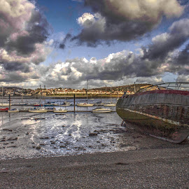 Conwy River by Dylan Barlow - Novices Only Landscapes ( north wales, wales, conwy, cymru, river,  )