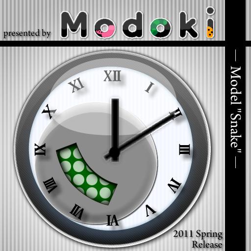 个人化のModokiClock ModelSnake LOGO-記事Game